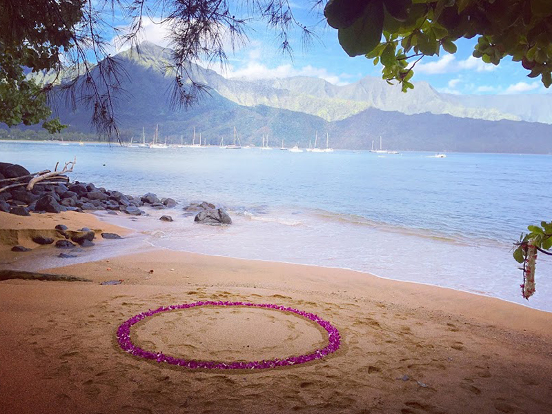 Hanalei Proposal Location