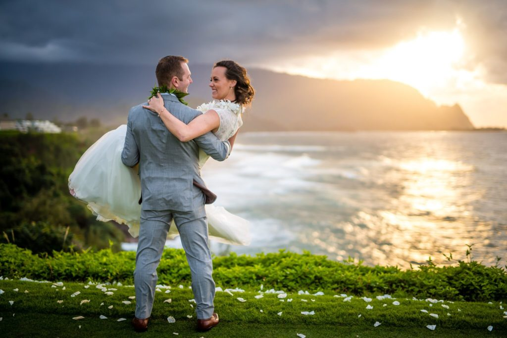 Kauai wedding on the North Shore.